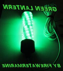 12V LED GREEN UNDERWATER SUBMERSIBLE NIGHT FISHING LIGHT cra