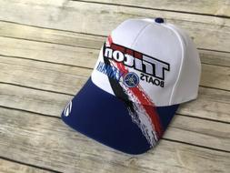 Triton Boats Hat YAMAHA Cap White Blue Fishing Apparel Trito