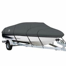 heavy duty boat cover stormpro with support