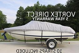 VORTEX HEAVY DUTY VHULL FISH SKI RUNABOUT COVER FOR 17 18 19