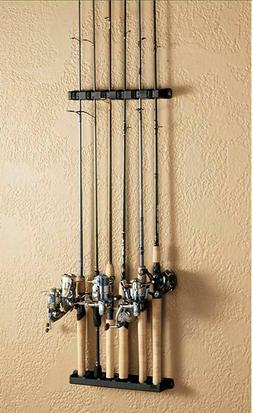 Horizontal Rod Rack 6 Fishing Boat Gear Pole Storage Stand H