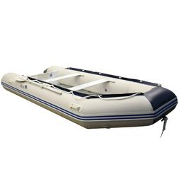 Inflatable Boat  4 person Aluminum Floor Rafting Fishing 9.2