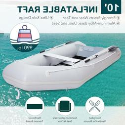 Inflatable Boat Raft Fishing Dinghy Tender Pontoon Boat 10.8