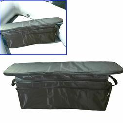 Inflatable Boat Under Seat Storage Bag Padded Seat Cushion F