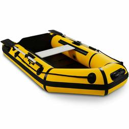 inflatable fishing boat 2 person rowing tender
