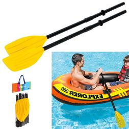 "Intex French Oars 1 Pair 48"" Plastic Oar Paddles Inflatable"