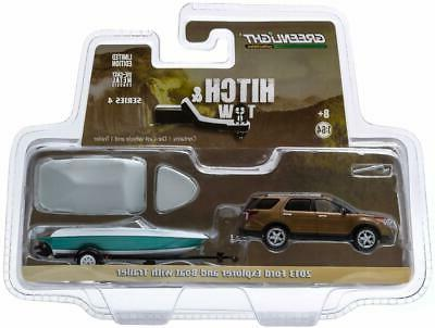 1/64th Hitch Tow 2013 Ford w/Fishing/Speed