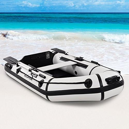 Goplus 2 or Inflatable Fishing Tender and Trolling Motor Transom