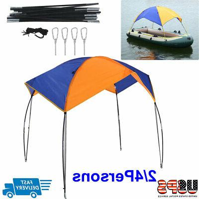 Boat Sun Shelter Sailboat Awning Cover Fishing Tent Sun Shad