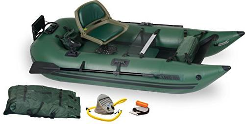 285 inflatable frameless fishing pontoon