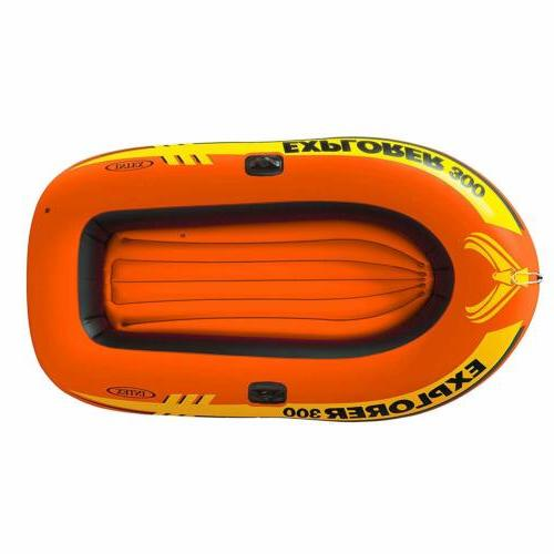 3-Person Inflatable with Oars High Output 83