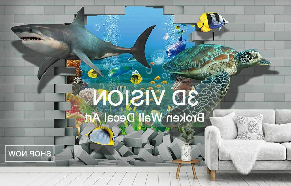 3D Boat Wall Wall Decals Steve