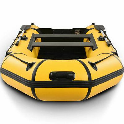 Goplus 4-Person Inflatable Dinghy Tender Rafting Water Sports