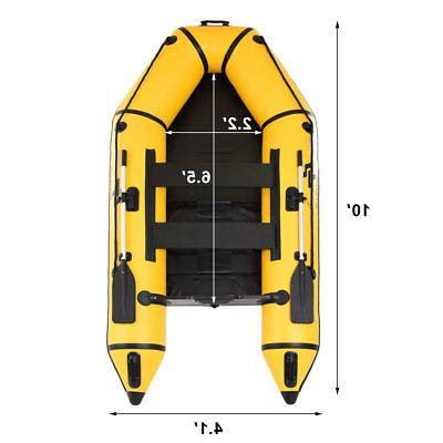 Goplus Dinghy Boat Fishing Tender Rafting Sports