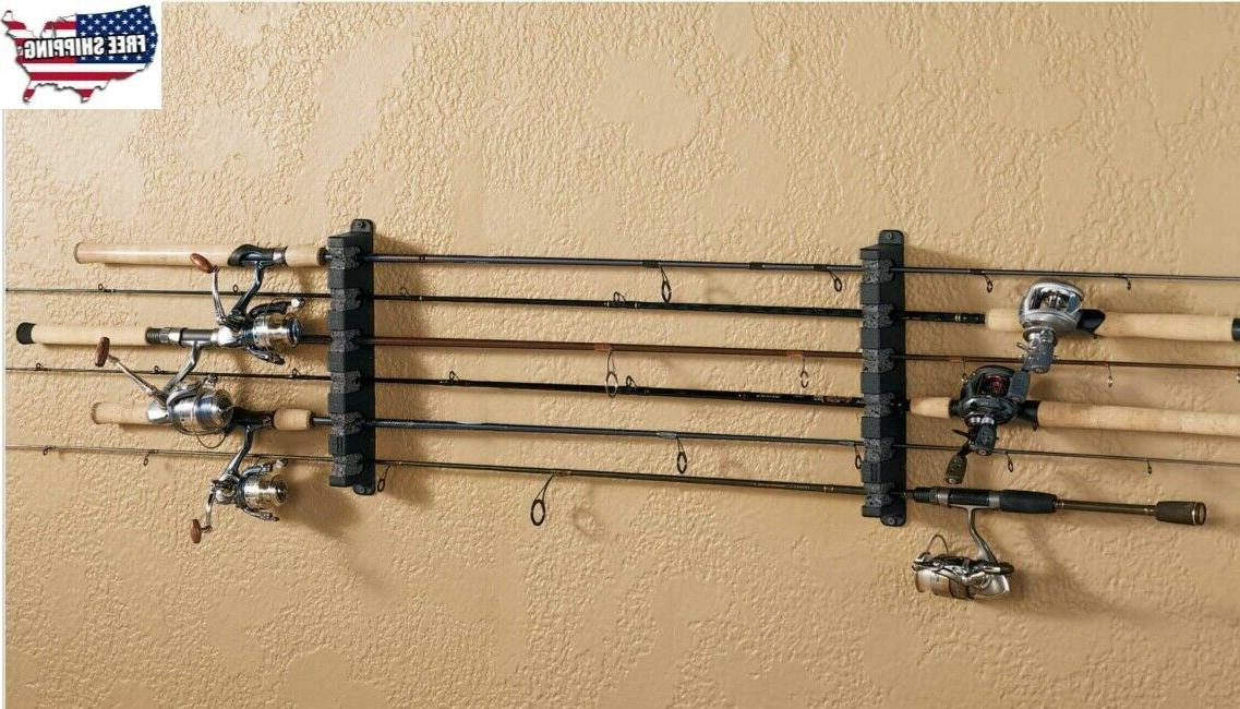 3 Place Boat Fishing Pole Rod Rack Storage Holder Foam Pair /& Stainless Hardware