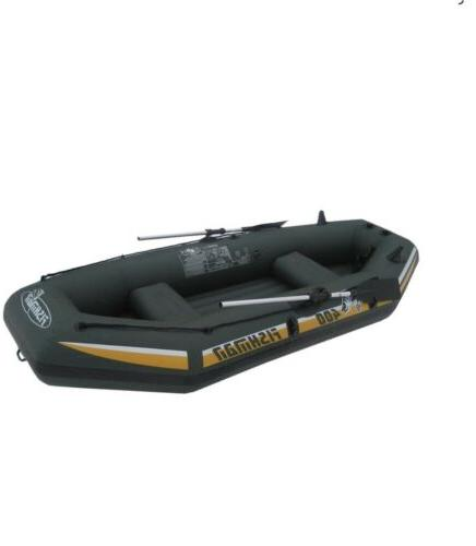 8' INFLATABLE BOAT FISHING RAFT INCLUDES