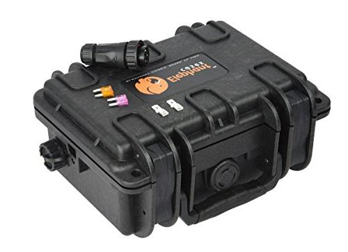 Elephant K095 Made Kayak Battery Box, Waterproof Battery for Powering GPS, Finders, Led Aerator and More.