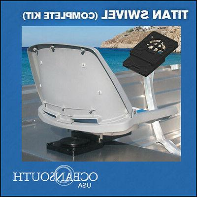 boat seat swivel removable