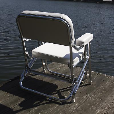 Wise Folding Boat Dock Deck Seat