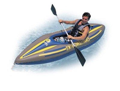 Intex Challenger 1-Person Inflatable Pump - 68305EP