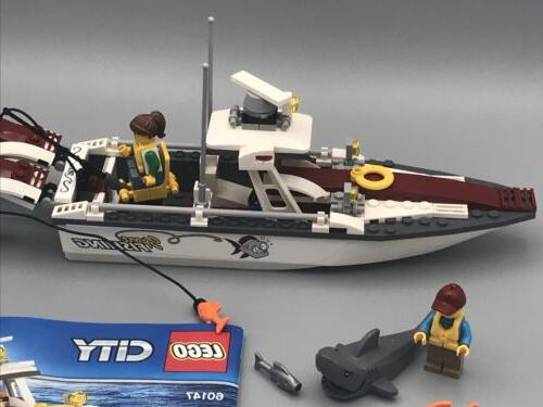 LEGO 60147 Boat with Instructions