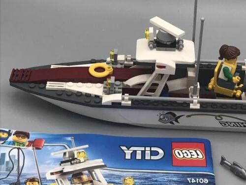 LEGO City 60147 Boat with Instructions