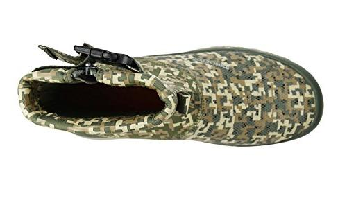 SoftScience The Fin Men's Boating/Fishing Sage Camo, 8