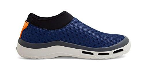 SoftScience Fin H2O Men's Fishing/Boating Shoes - Blue, Size