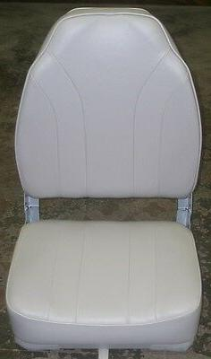 WISE HIGH BACK BOAT SEAT GREY WD1062PLS-717