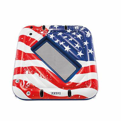 inflatable american flag 81 inch 2 person