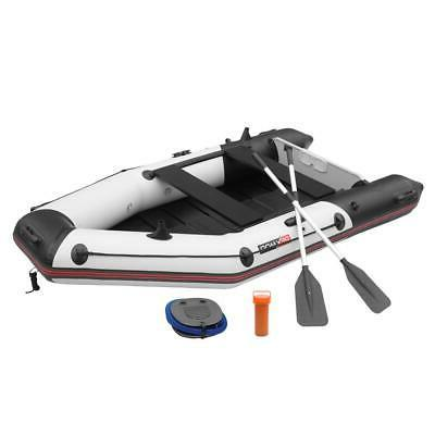 10ft 2-Person Inflatable Dinghy Boat Fishing Tender Rafting