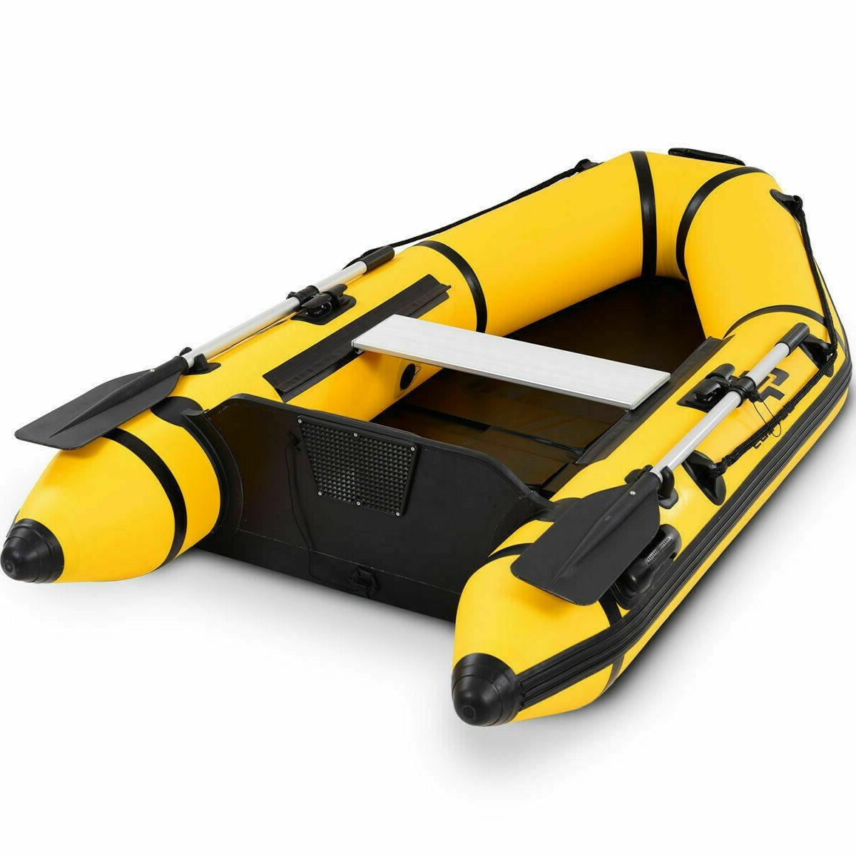 Inflatable Fishing Person Dinghy 7.5 ft Pump