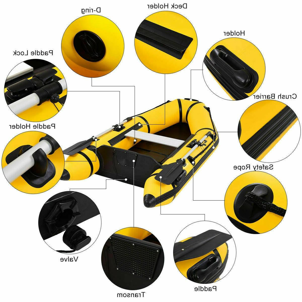Inflatable Boat Person Dinghy Boat Pump
