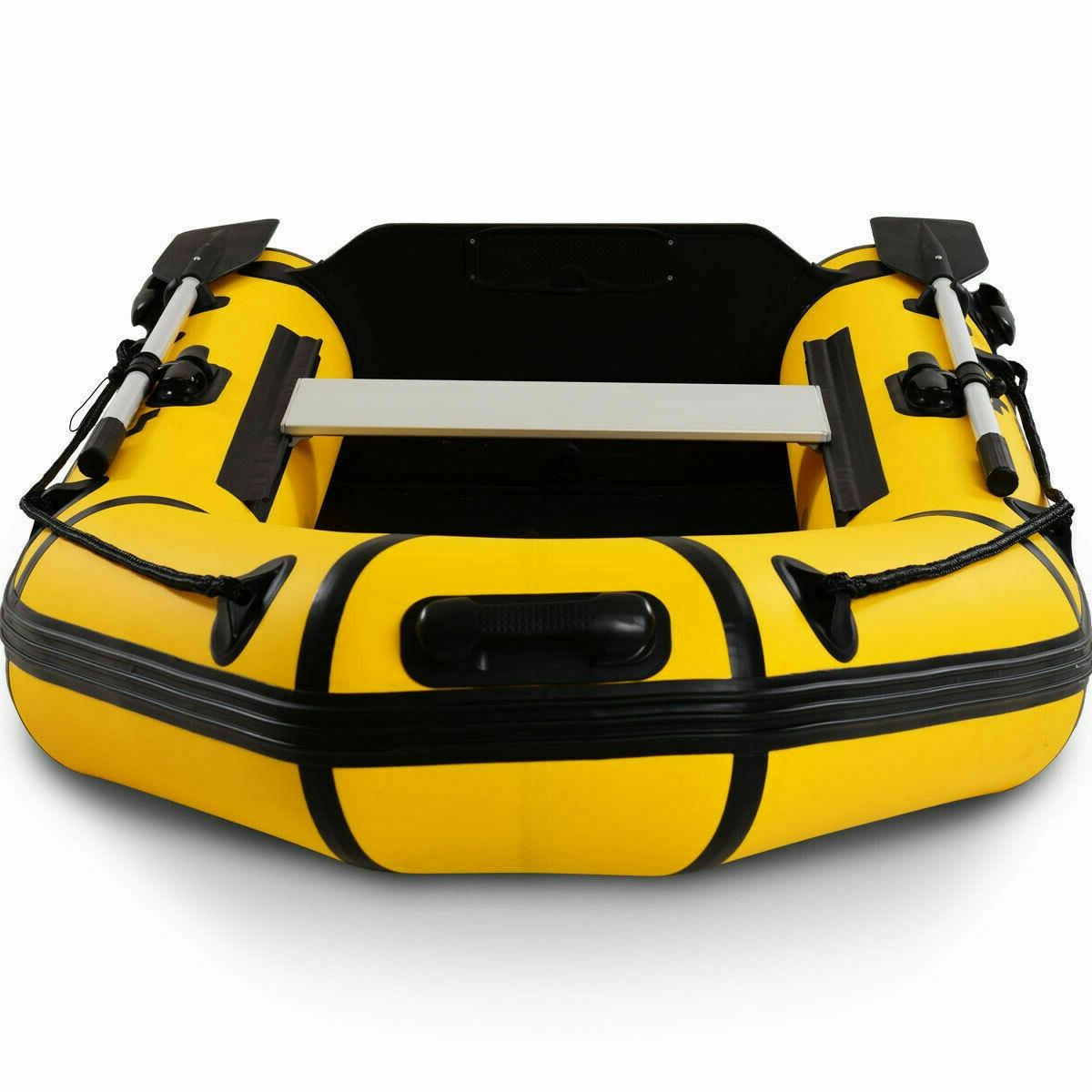 Inflatable Person Dinghy Boat 7.5 ft Pump