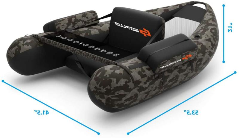 Inflatable Boat with PUMP Up With Storage