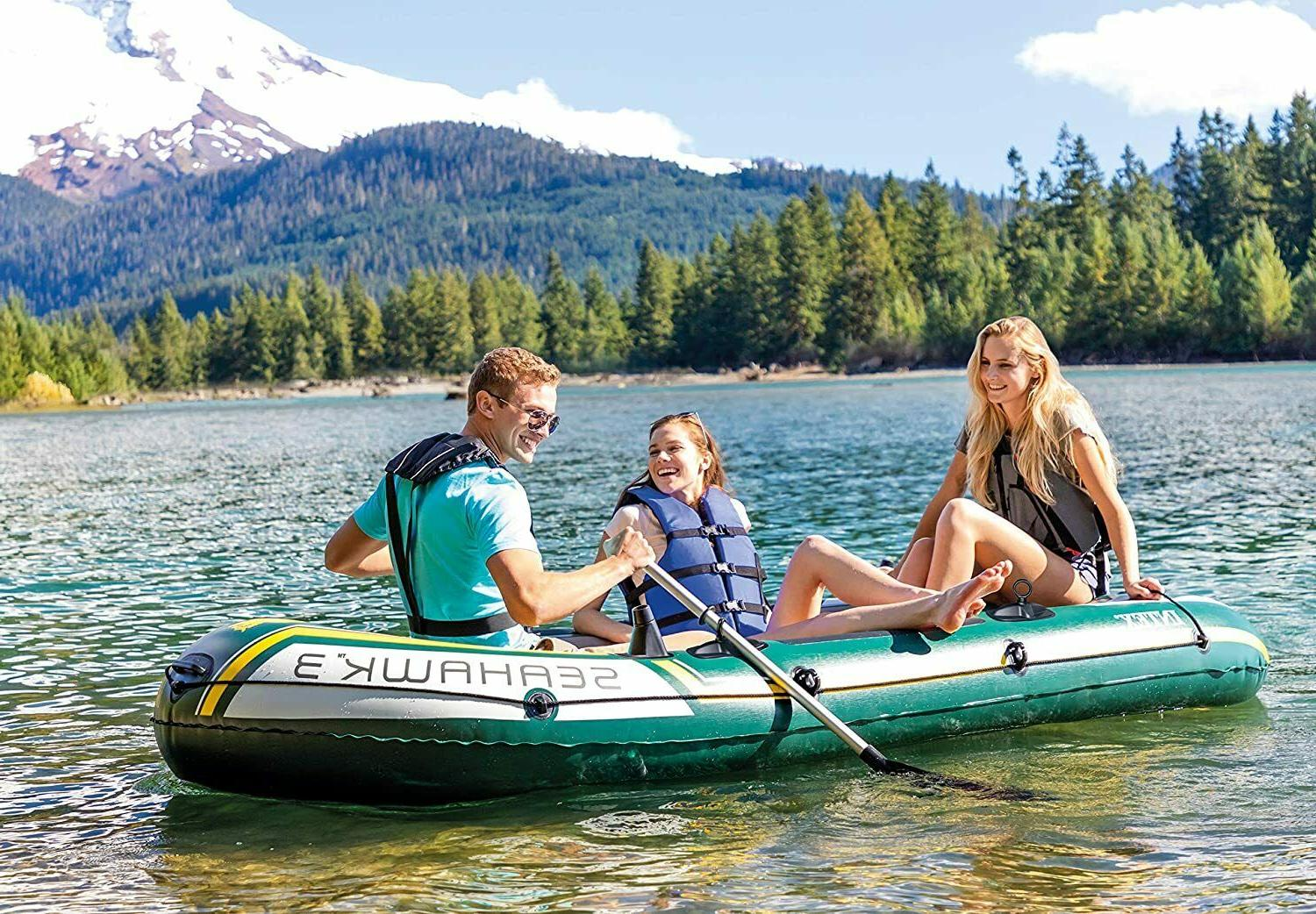Inflatable Family 2 Oars for People