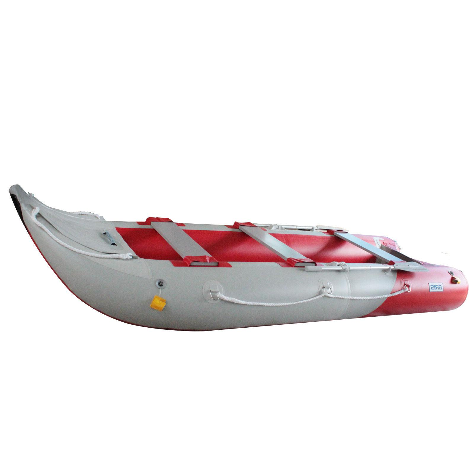 BRIS 14.1Ft Inflatable Boat Fishing Tender Boat With Air