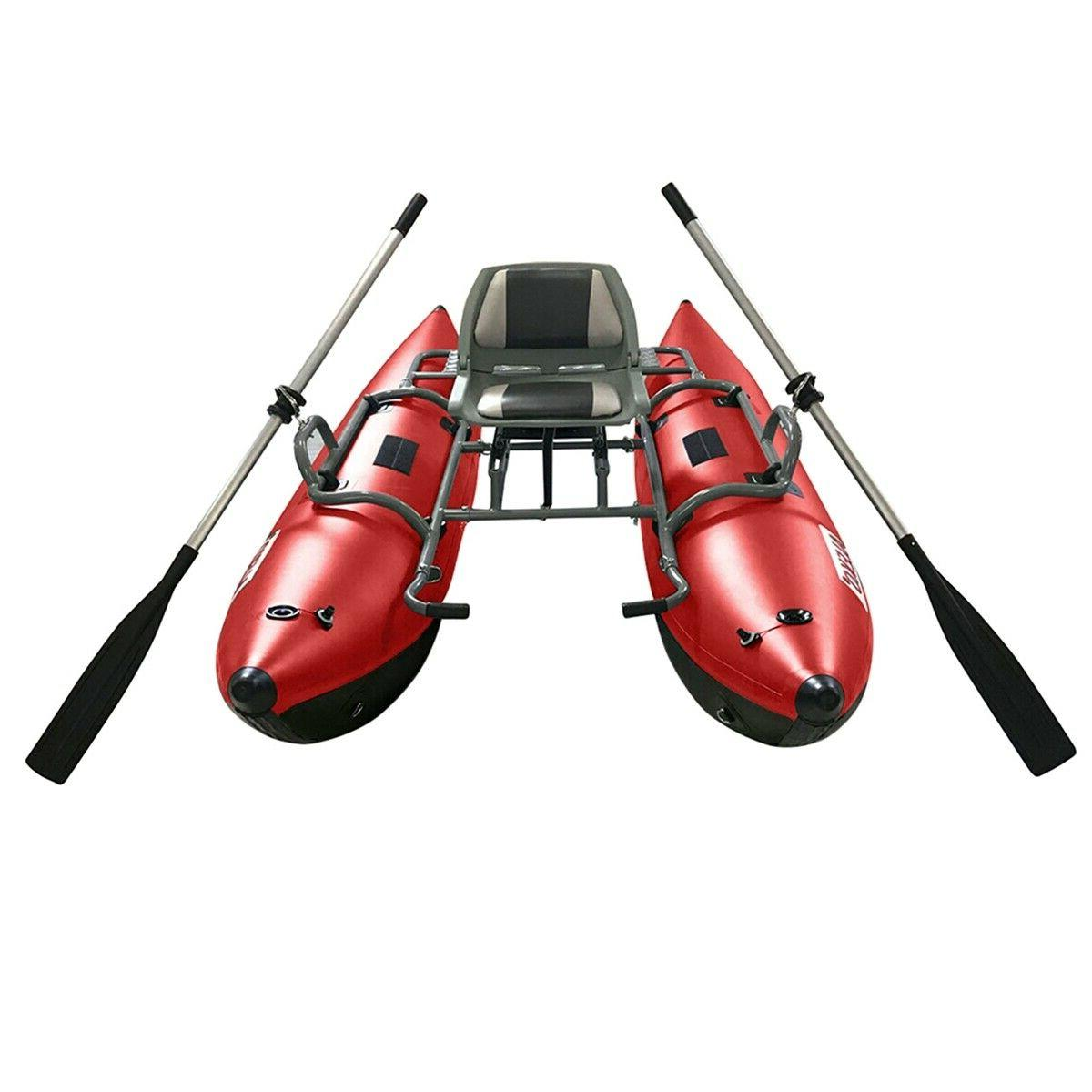 ALEKO Personal Fishing Pontoon Boat with Seat 10 Foot New