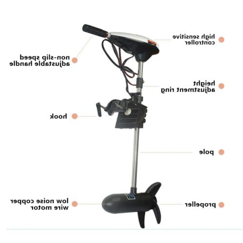 Electric Outboard Fishing Trolling Engine