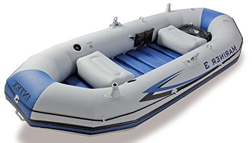 Intex Mariner 3, 3-Person Inflatable Boat Aluminum Oars Output