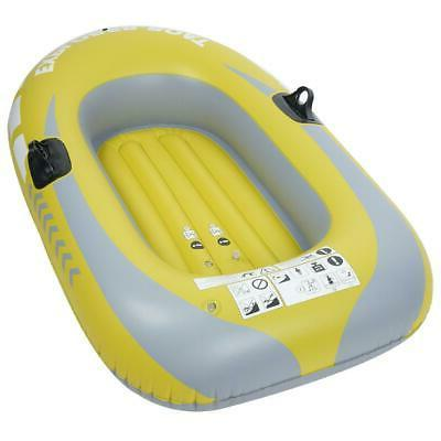 Inflatable 1-2 Person Boat Rowing Air Boat Fishing Drifting