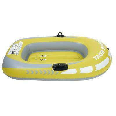 Inflatable Person Boat Rowing Drifting Diving PVC