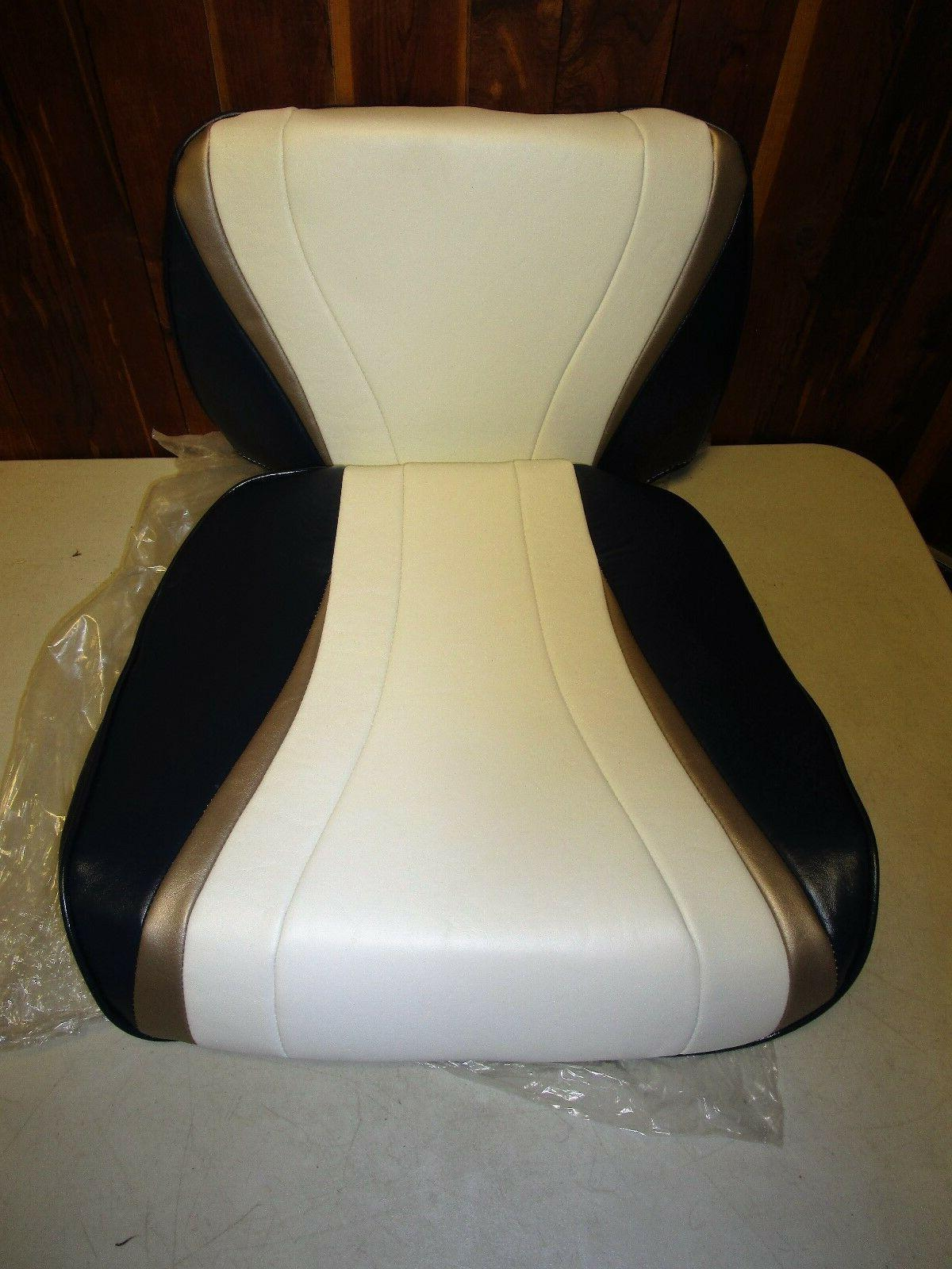 new all weather boat seat and cushion