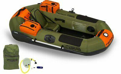 new pf7k packfish inflatable boat deluxe fishing