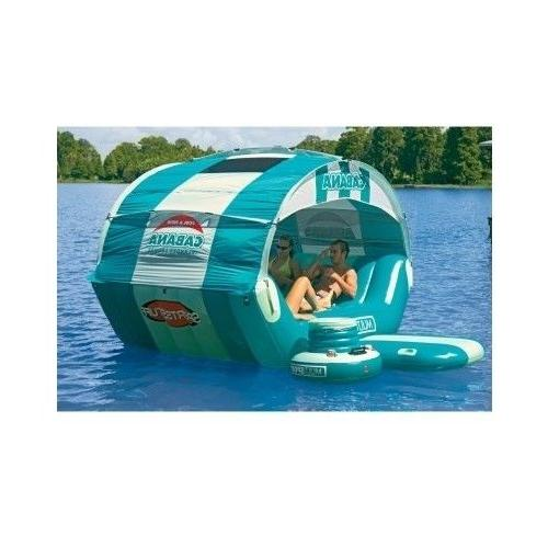 Pool Float for Kids Floating Caribbean Lounger Canopy Large
