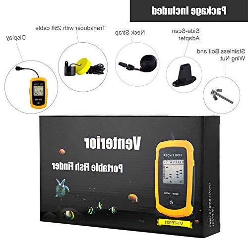 Venterior Portable Finder, Sonar Sensor and LCD Display