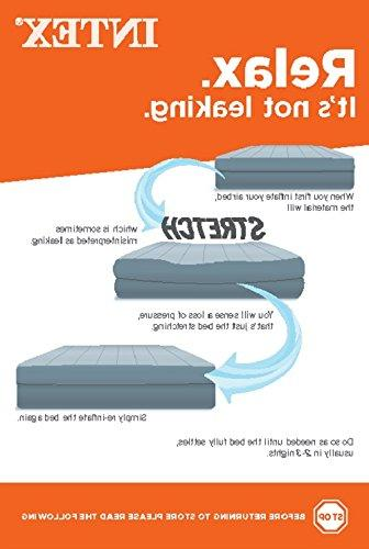 Intex® Queen Plush High Rise Airbed