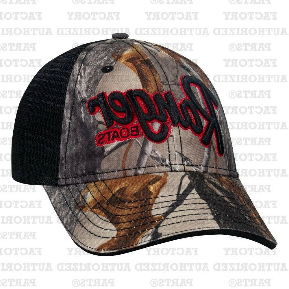 RANGER BASS BOATS RANGER TRUE TIMBER HAT R19A-H601 BASS FISH
