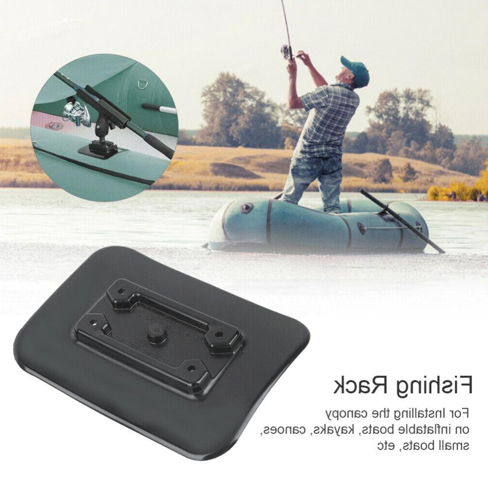 Rubber Base Mount Accessories for Inflatable Boat Kayaking Canoeing
