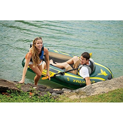 Intex Seahawk 2, Inflatable Boat Set French Oars Output